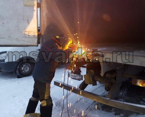 Ремонт кузова грузовой машины