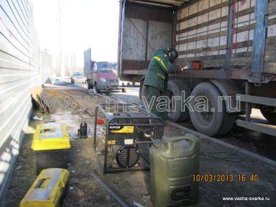 ремонт грузовых машин на выезде с генератором