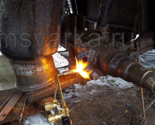 ремонт тормозных барабанов на прицепе