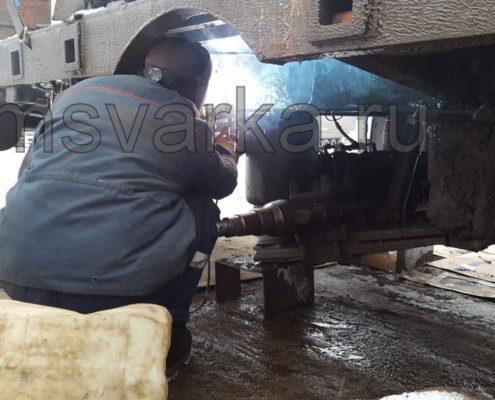 ремонт и сварка грузовой машины