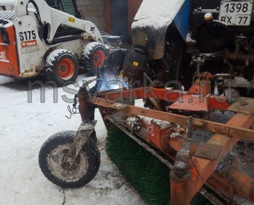 сварка рвмы трактора