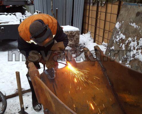 услуги по резке металла газом