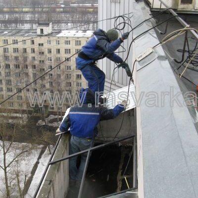 ремонт и сварка балконных перил