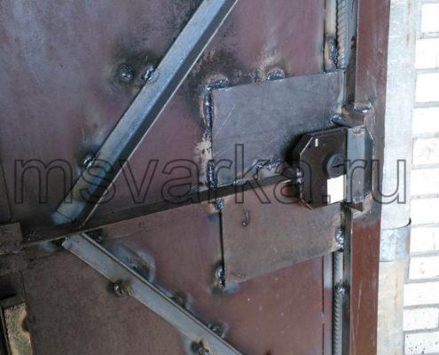 Усиление ворот гаража