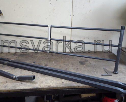 ремонт и усиление кровати из металла