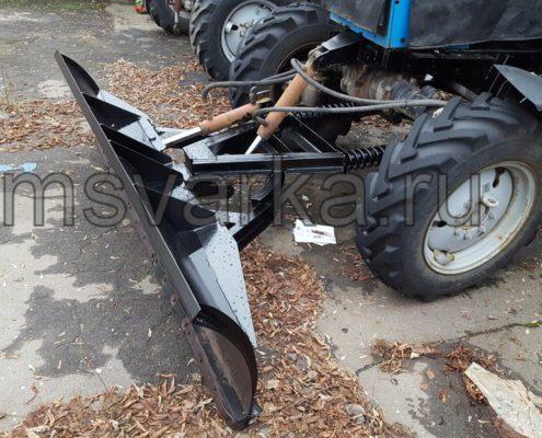 ремонт отвала на тракторе