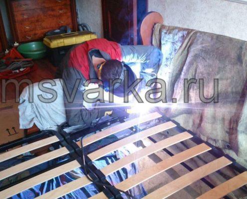 сварка и ремонт кровати